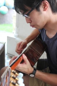 Charlie Lim guitare